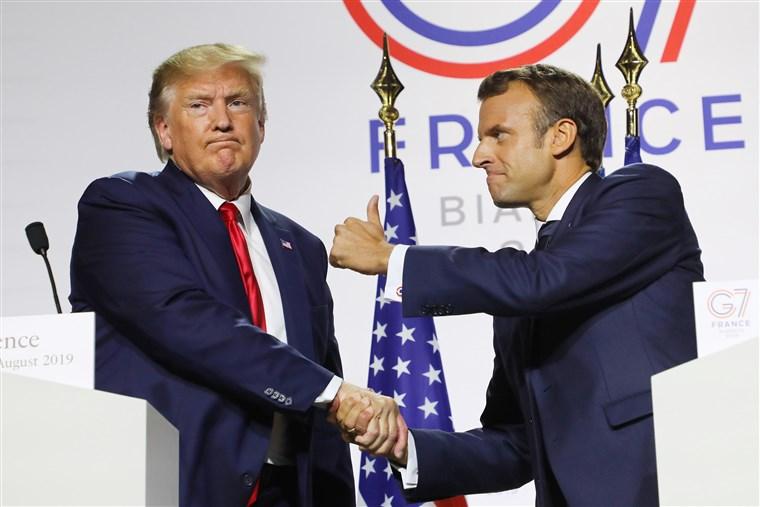 Pse del Macron në krye të atyre që shajnë NATO-n?