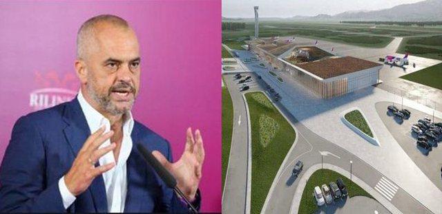 VIDEO/ Rama: Nga kantieri i ndërtimit të aeroportit të Kukësit! Puna vazhdon!