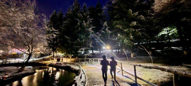 FOTO/ Pamje mahnitëse, Kukësi dhe Puka nën magjinë e borës pranverore
